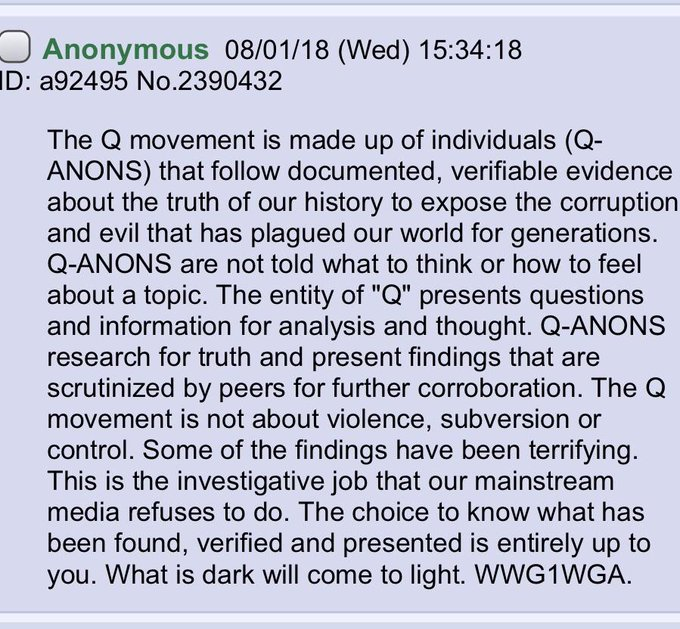 The Q Movement (in a nutshell)